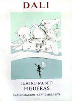 Salvador Dali: Expulsion, Teatro Museo Figueras, 1974