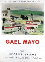 Gael Mayo: Galerie Hector Brame, 1958