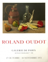 Roland Oudot: Galerie de Paris, 1972