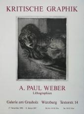 A. Paul Weber: Galerie am Grasholz, 1996