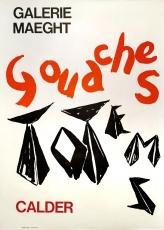 Alexander Calder: Galerie Maeght, 1966