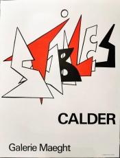 Alexander Calder: Galerie Maeght, 1963