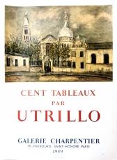 Maurice Utrillo: Galerie Charpentier, 1959