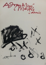 Antoni Tapies: A Joan Miró, 1992