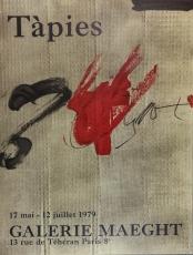 Antoni Tàpies: Galerie Maeght, 1979