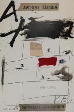 Antoni Tapies: Kunsthalle Bremen, 1977