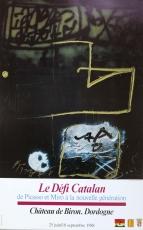 Antoni Tapies: Chateau de Biron, 1988