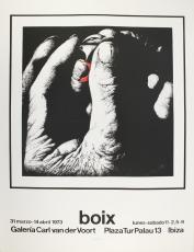 Manuel Boix: Galeria van der Voort, 1973