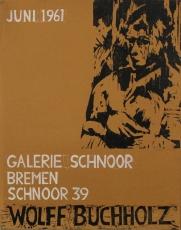 Wolff Buchholz: Galerie Schnorr, 1961