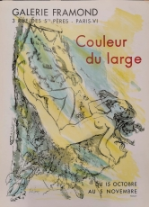 Luc Simon: Galerie Framond, 1959