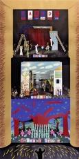 David Hockney: Parade - Ravel - Metropolitan Opera, 1982