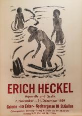 Erich Heckel: Galerie im Erker, 1959
