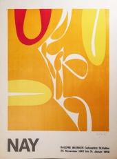 Ernst Wilhelm Nay: Galerie im Erker, 1967