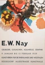 Ernst Wilhelm Nay: Kunstverein Düsseldorf, 1959