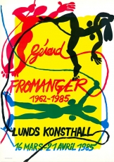 Gerard Fromanger: Lunds Kunsthall 1985
