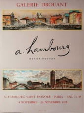 André Hambourg: Galerie Drouant, 1958