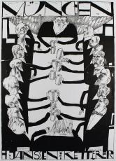 Horst Janssen: Galerie Ketterer, 1966 (2)