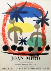 Joan Miró: Galerie Berggruen, 1959