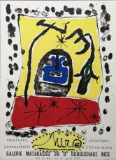 Joan Miró: Galerie Matarasso, 1957