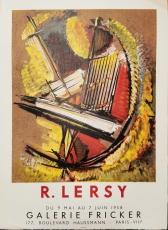 Roger Lersy: Galerie Fricker, 1958
