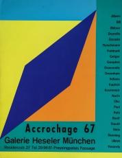Max Bill: Galerie Heseler, 1967