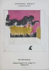 Bjørn Willy Mortensen: Oslo Kunstforening, 1972