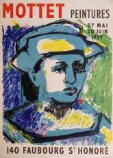 Ivonne Mottet: PEINTURES, 1959