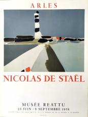 Nicolas De Stael: Musee Reattu, 1958