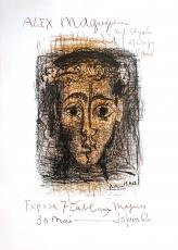 Pablo Picasso: ALEX MAGUY, Galerie Elysée, 1962