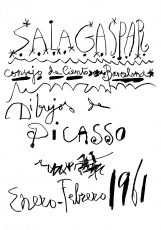 Pablo Picasso: Sala Gaspar, 1961 (2)