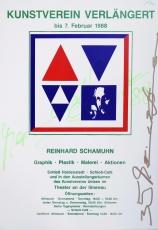Reinhard Schamuhn: Kunstverein Uelzen, 1988