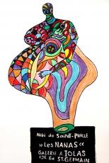 Niki de Saint Phalle, Galerie Iolas, 1965