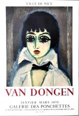 Kees van Dongen: Portrait Marcelle Leoni, 1959