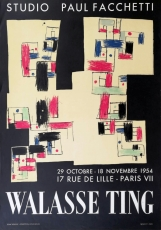 Walasse Ting: Studio Faccetti, 1954