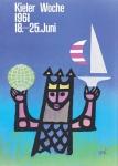 Celestino Piatti: Kieler Woche 1961