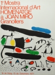 Joan Miró: Granollers, 1971