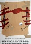 Antoni Tàpies: Katalanische Wochen Berlin, 1978