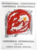 Antoni Tàpies: PEN - Conferència Internacional, 1978