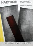 Hans Hartung: Galerie Joan Prats, 1977