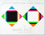 Max Bill: Galerie im Erker, 1971