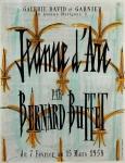 Bernard Buffet: Galerie David & Garnier, 1958