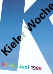 Wim Crouwel: Kieler Woche 1998