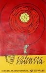 Valerio Adami: COPA DEL MUNDO DE FUTBOL - ESPANA, 1982