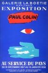 Paul Colin: Galerie Labouétie, 1958