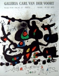 Joan Miró: Galerie van der Voort, 1972