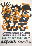 A.R. Penck: Hachmeister Galerie, 1992