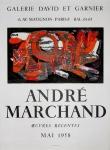 André Marchand: Galerie David et Garnier, 1958