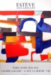 Maurice Estève: Galerie Galanis, 1956