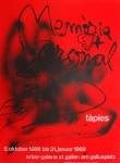 Antoni Tàpies: Galerie im Erker, 1988