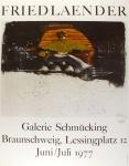Johnny Friedlaender: Galerie Schmücking, 1977